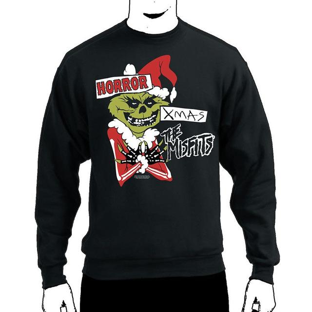 The Misfits Horror Xmas Crewneck Sweatshirt