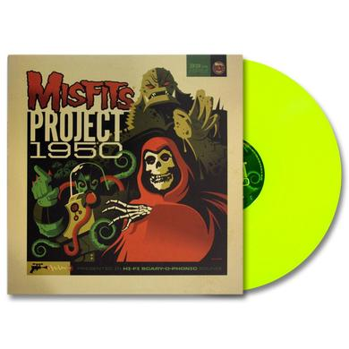 "Misfits ""Project 1950"" (Expanded Edition) LP, Fluorescent Yellow Vinyl w/ download card"
