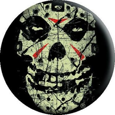 "Misfits ""Crystal Lake Skull"" Button"