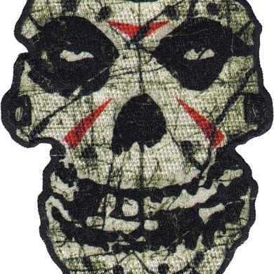 "Misfits ""Crystal Lake Skull"" Embroidered Patch"