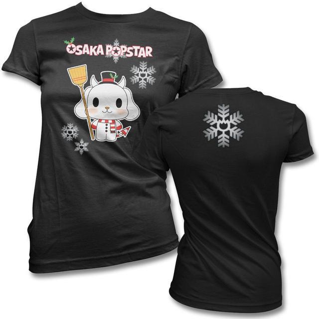 The Misfits Snowdog Womens T-shirt