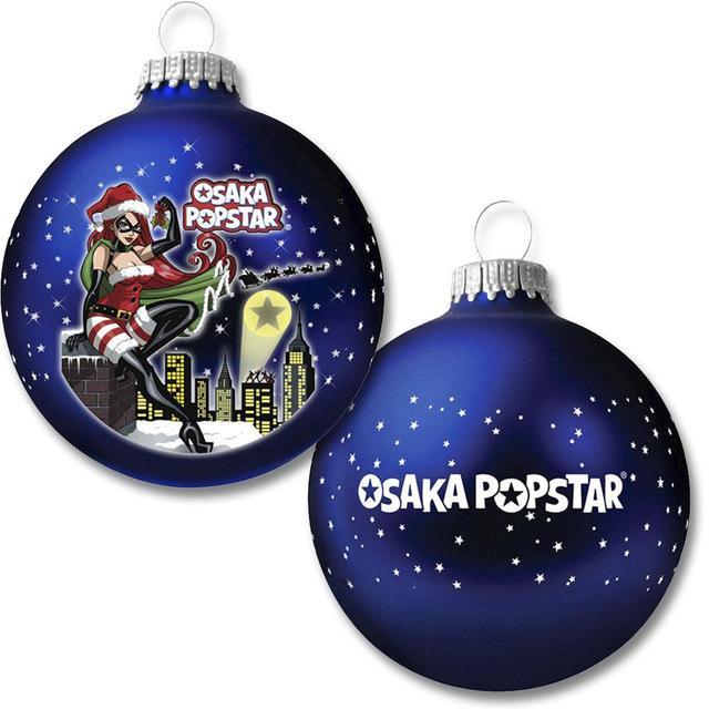 The Misfits Osaka Popstar Ltd Ed Glass Ornament w/ DIGITAL SINGLE