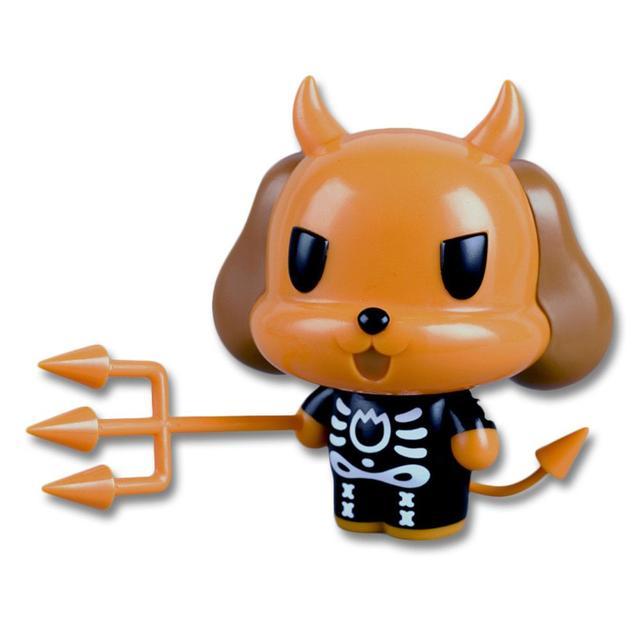 The Misfits Limited Edition Skeleton Suit Devil Dog Vinyl Figure