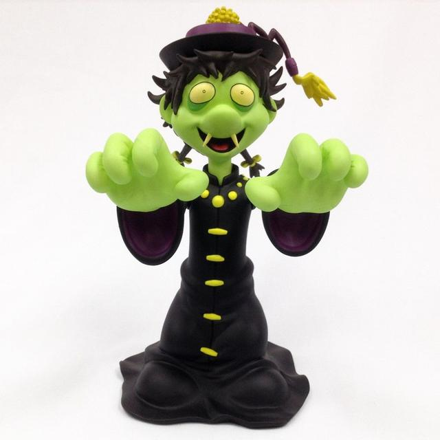 "The Misfits Osaka Popstar ""Hopping Ghosts"" Vinyl Figure, Green Variant-a web exclusive!"