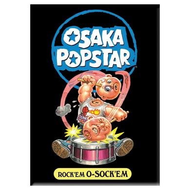 """The Misfits Osaka Popstar """"Rock'em O-Sock'em"""" Magnet"""