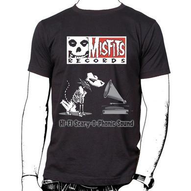 Misfits Records Double Logo T-shirt