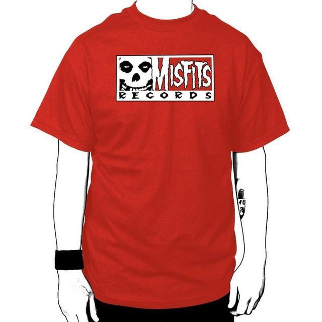 Misfits Records Single Logo T-shirt