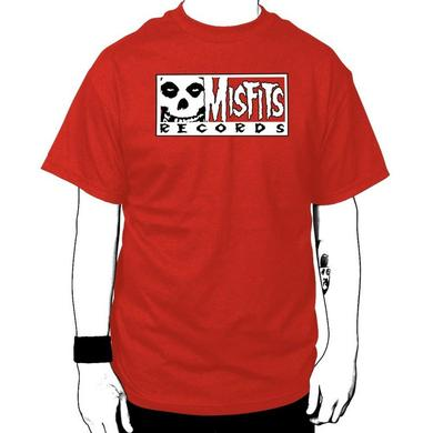 Misfits Records Single Logo T-shirt