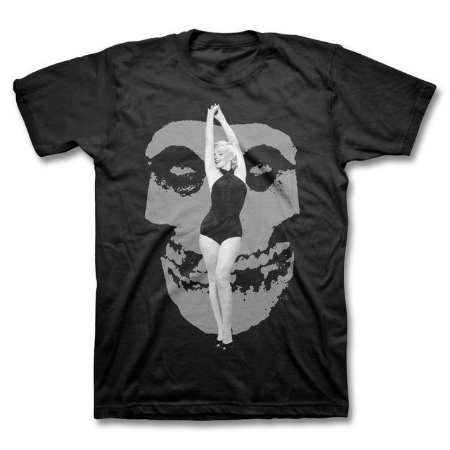 """Ltd Ed. Misfits x Marilyn Monroe """"Fiend Skull"""" T-Shirt"""