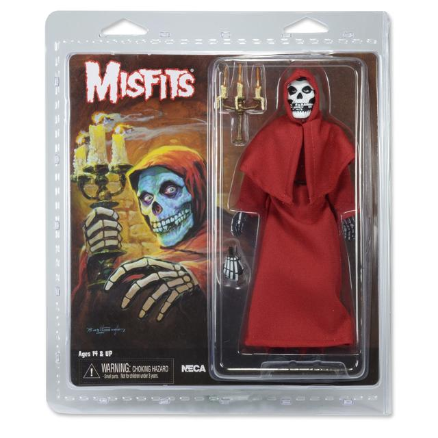 Misfits Fiend retro stylized action figure RED