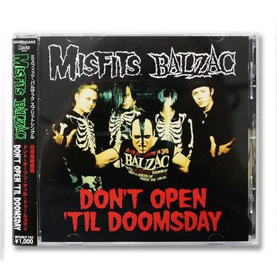 Misfits/Balzac: Don't Open Till Doomsday Split CD Single (Import)