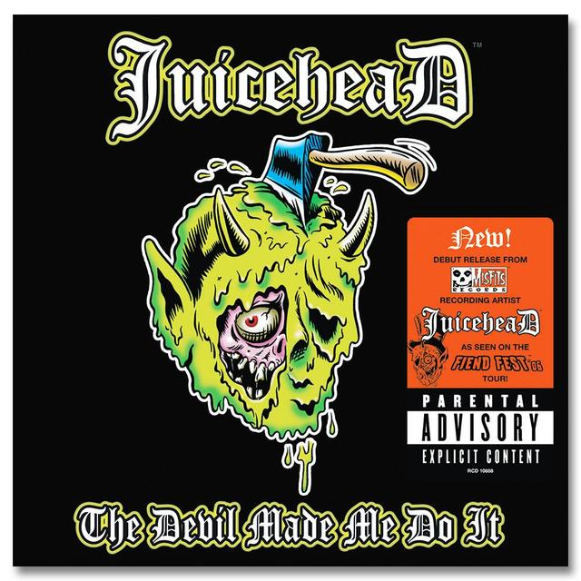 The Misfits JuiceheaD: The Devil Made Me Do It CD