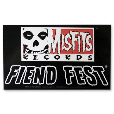 The Misfits Fiend Fest Sticker