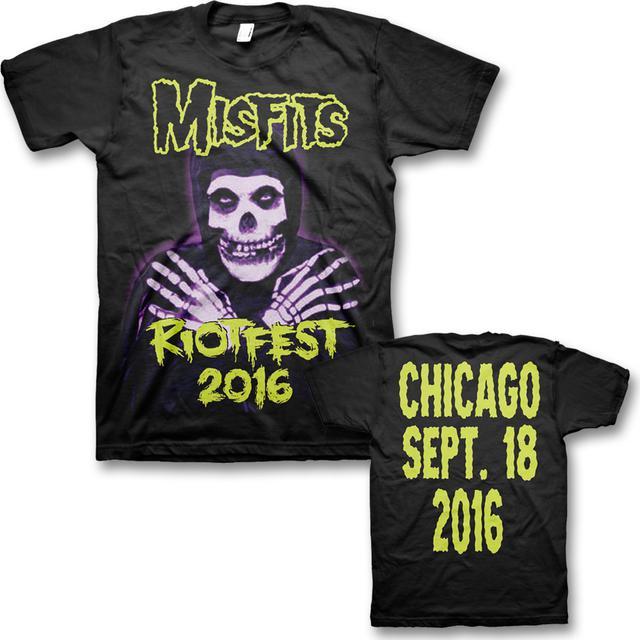 Hands: Original Misfits Reunion, Riot Fest Event T-shirt