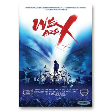 X Japan We Are X DVD