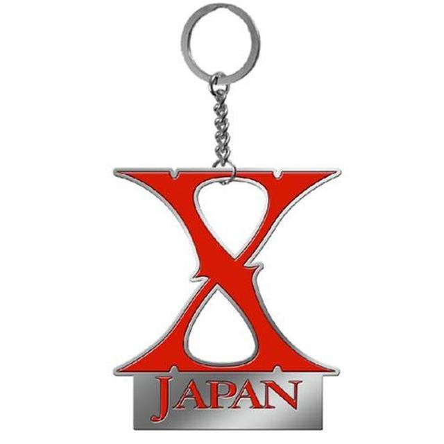 X Japan Logo Keychain