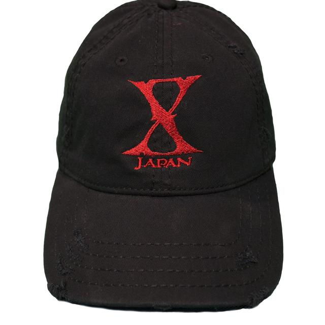 X Japan Distressed Cap