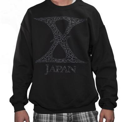 X Japan Cheetah Crewneck
