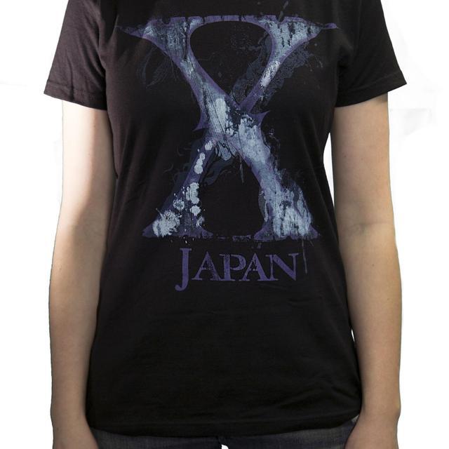 X Japan Ladies Purple X T-Shirt