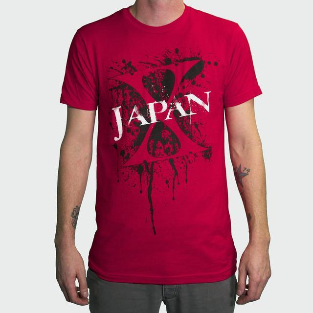 X Japan Paint Splatter T-Shirt