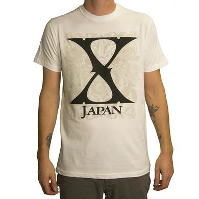 X Japan Flowers T-Shirt
