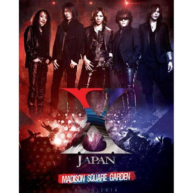 X Japan 2014 Madison Square Garden Show Poster