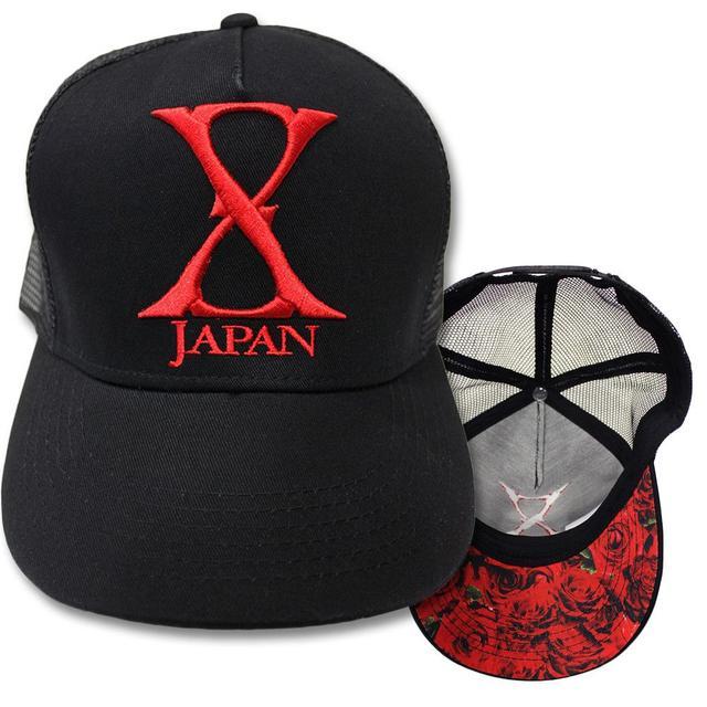 X Japan Red Logo Embroidered Hat
