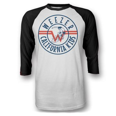 Weezer Cali Kids Raglan Shirt