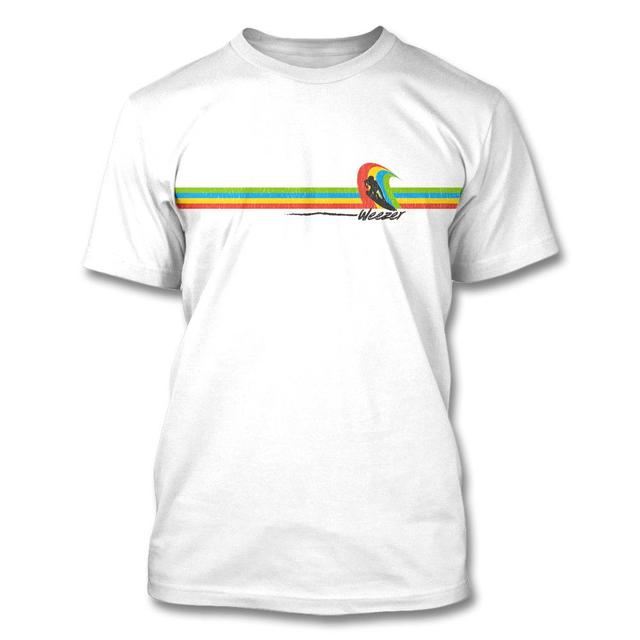 Weezer Rainbow Surf T-shirt