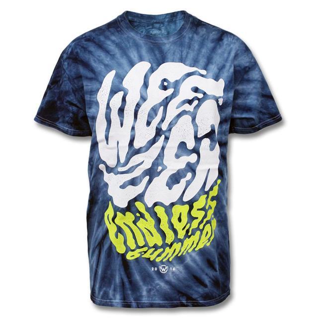 Weezer Endless Bummer Tie Dye T-shirt