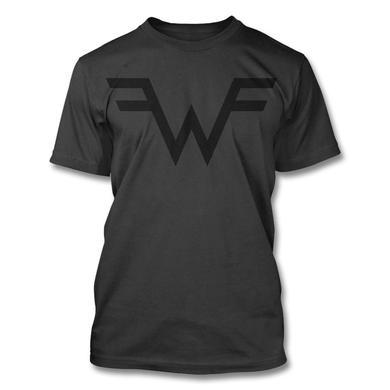 Weezer Black W T-shirt (Vintage Black)