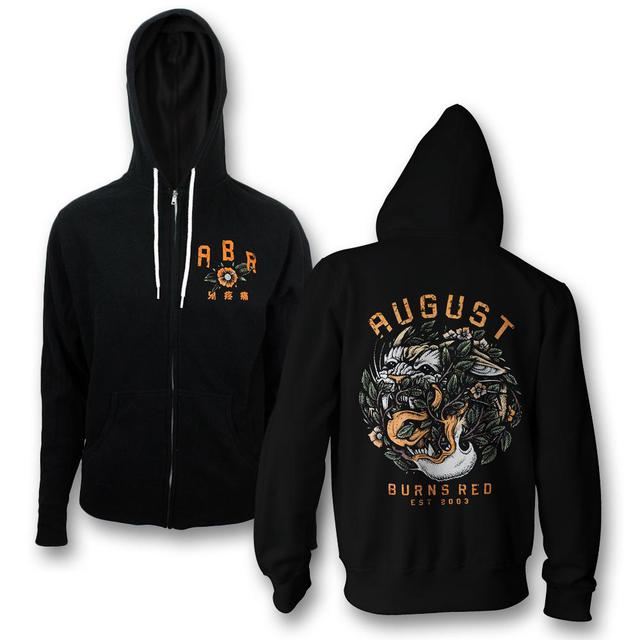 August Burns Red Tiger Zip-Up Hoodie