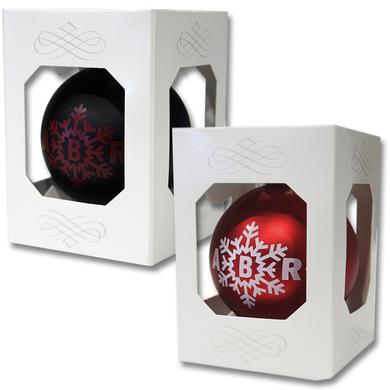 August Burns Red Snowflake Ornament - Black or Red