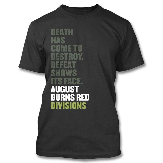 August Burns Red Divisions T-shirt