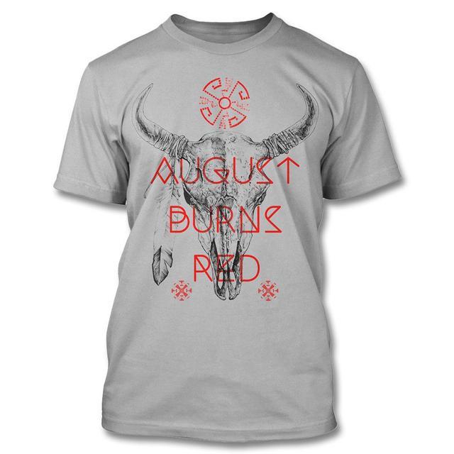 August Burns Red Bison Skull - (Slim T-shirt)