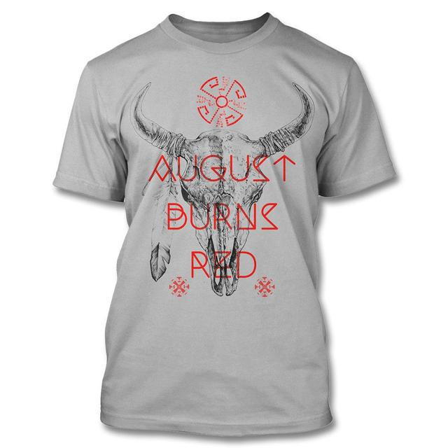 August Burns Red Bison Skull - (Slim T-shirt)