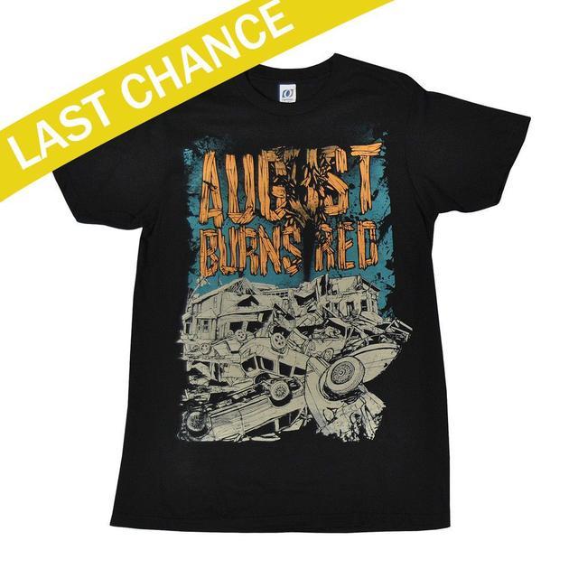 """August Burns Red Tornado """"12 US Tour T-shirt"""