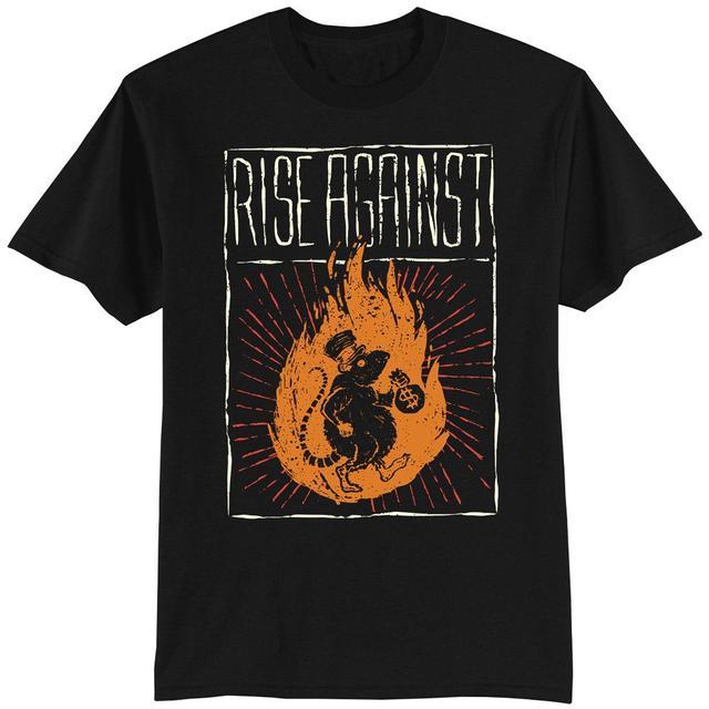 Rise Against Rat Burglar Men's T-Shirt