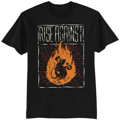 Rise Against Rat Burglar Men's T-Shirt