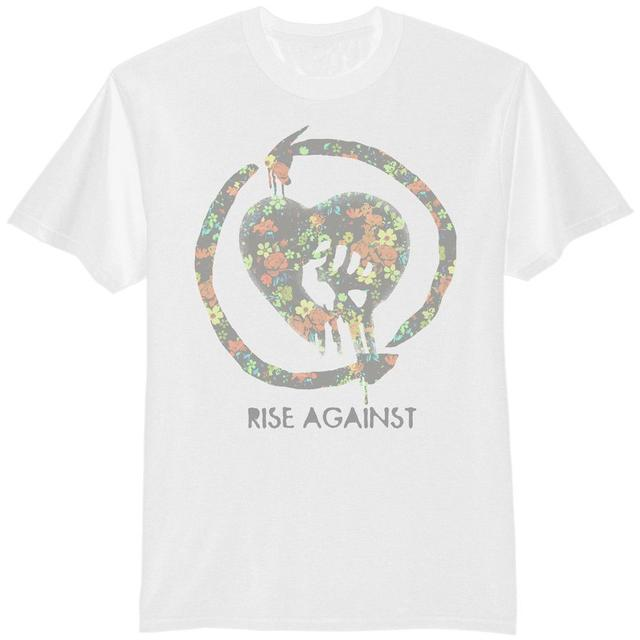 Rise Against Floral Fist T-Shirt - Men's