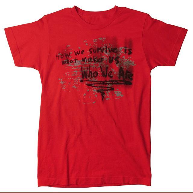 Rise Against Survive T-shirt - Men's (Red)