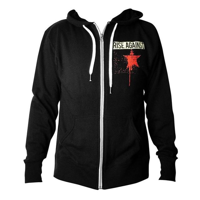 Rise Against HIO Thumbhole Zip Hoodie