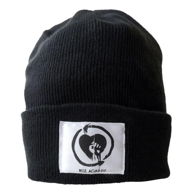 Rise Against Patched Heartfist Beanie