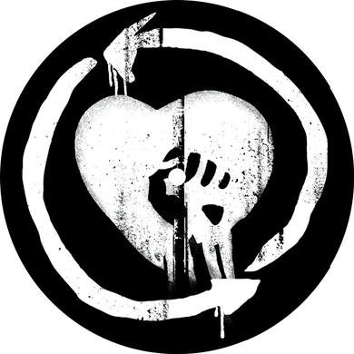 Rise Against Heartfist Turntable Mat - 7""