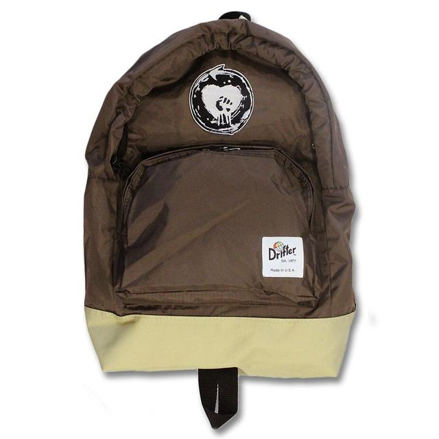 Rise Against Patchfist Drifter Backpack - Brown