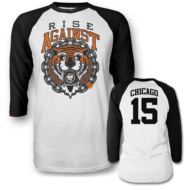 Rise Against Tiger Bomb Raglan T-shirt
