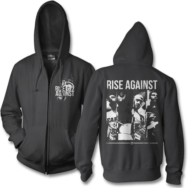 Rise Against Studio Photo Zip Hoodie
