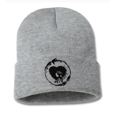 Rise Against Embroidered Heartfist Beanie