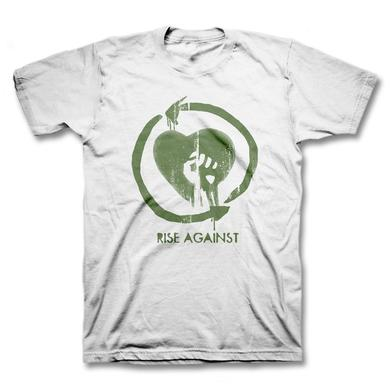 Rise Against Heartfist Toddler Tee - White