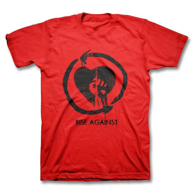 Rise Against Heartfist Toddler Tee - Red